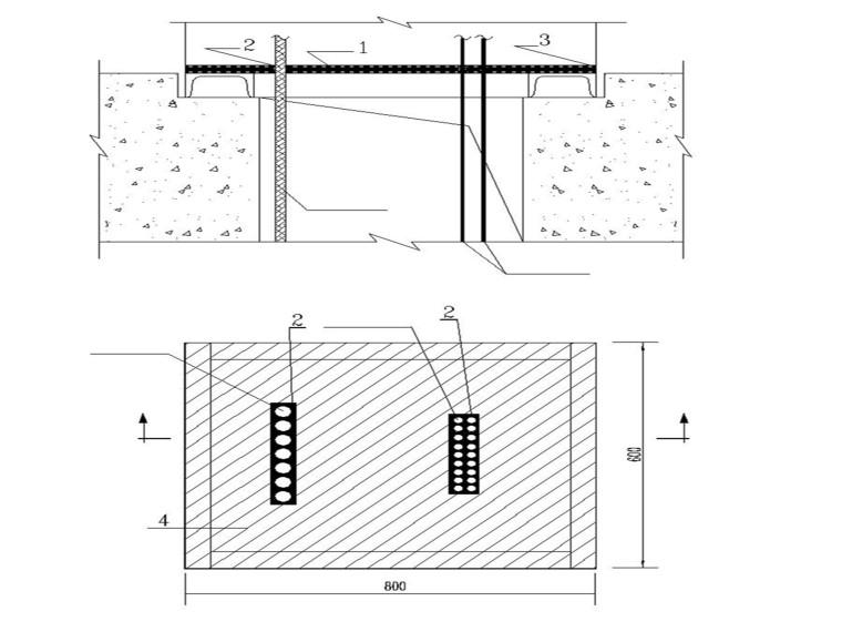 热电厂电缆防火施工图