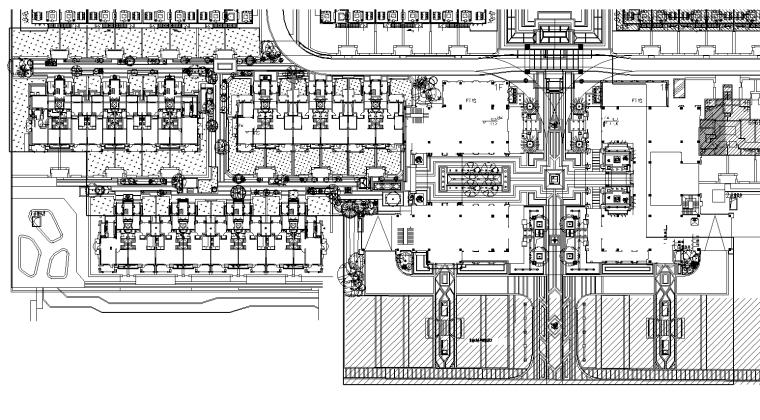 [上海]绿地菊园示范植物配置CAD施工图