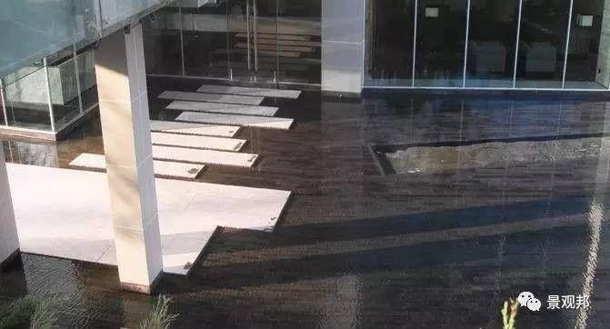 镜面水的做法——石材架空_8