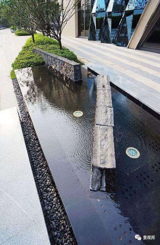镜面水的做法——石材架空_18