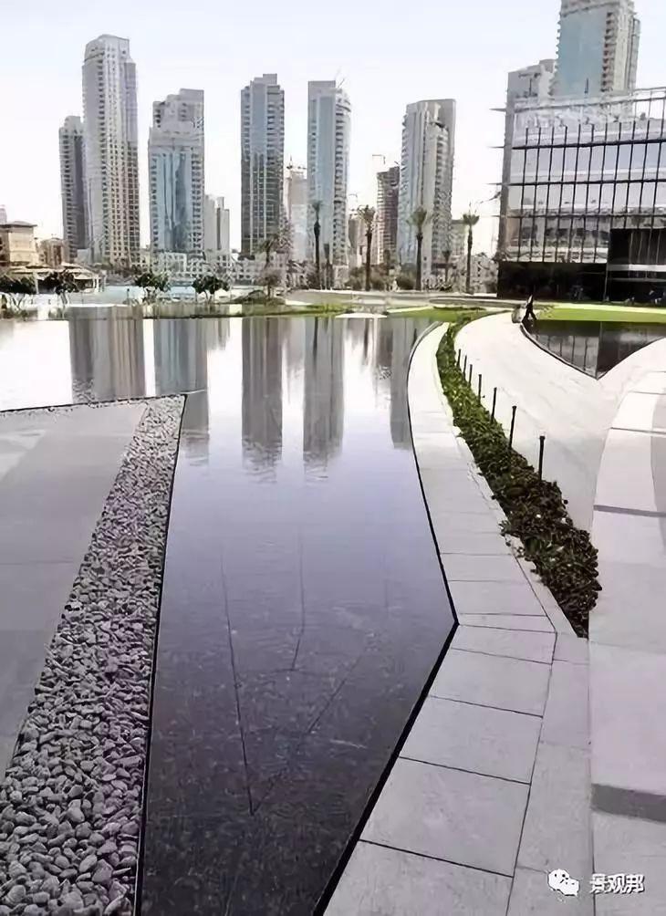 镜面水的做法——石材架空_33