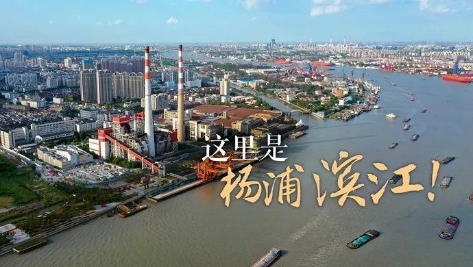 这里是上海杨浦滨江!
