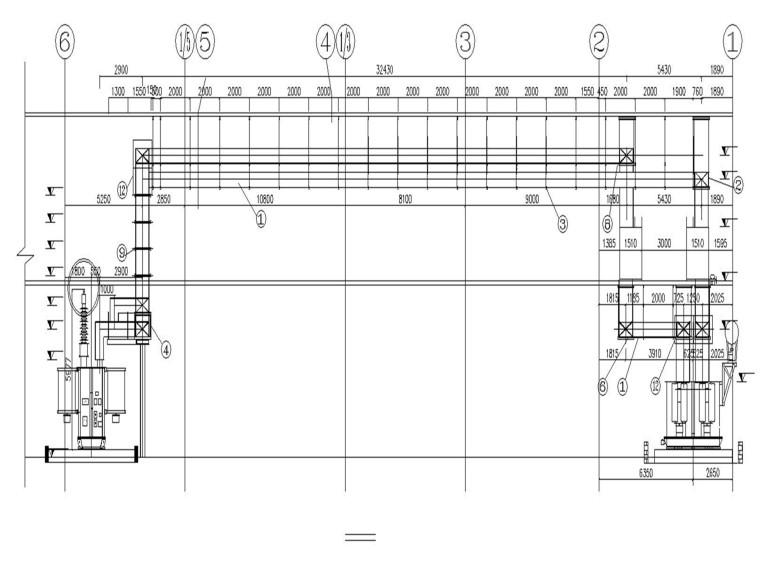 高压厂变、起动备用变低压侧共箱母线安装
