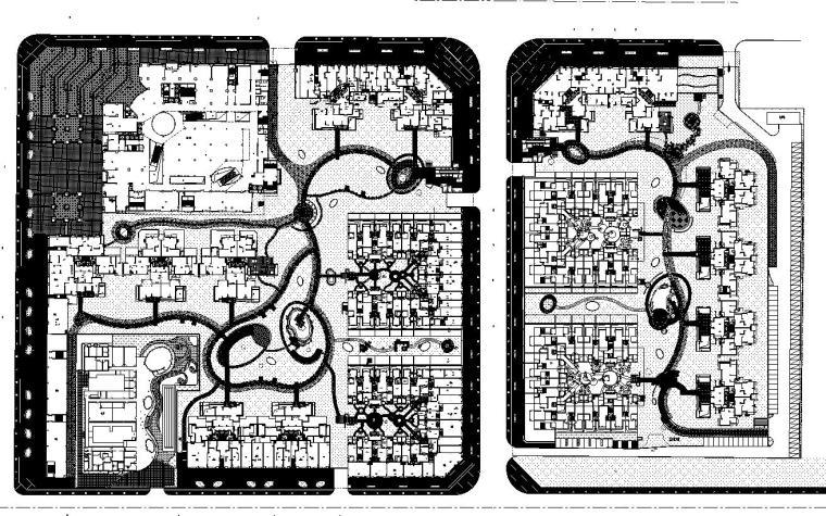[四川]龙湖成都三千城景观植物CAD施工图