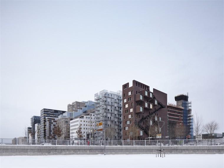 挪威楔形办公楼