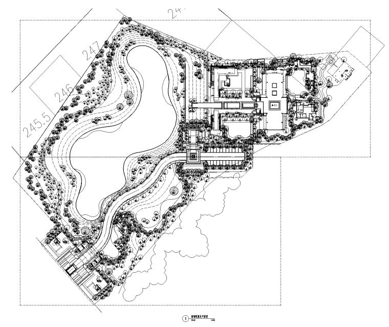 [重庆]龙湖九里晴川植物配置CAD+SU+实景