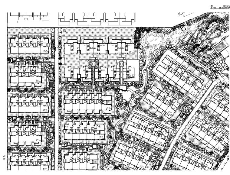 [上海]佘山玺樾大区植物配置CAD施工图-奥雅
