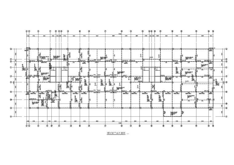 十八层框架剪力墙住宅楼结构施工图