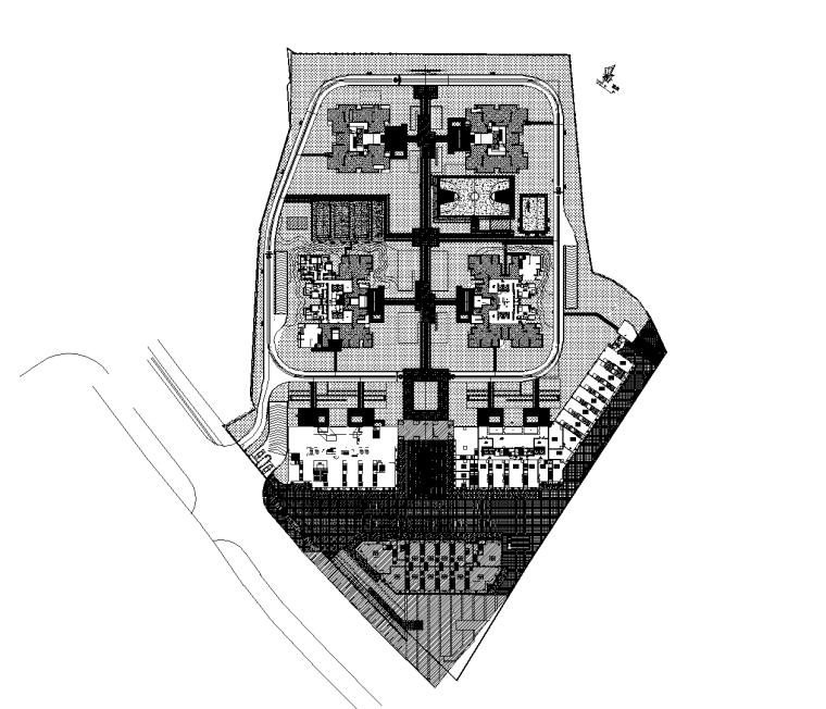 [重庆]万科居住区植物配置CAD施工图
