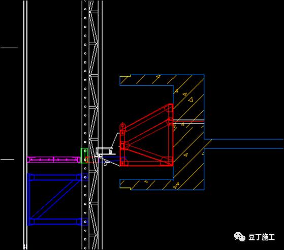 折叠式升降脚手架设计、安装及拆除工艺解析_15