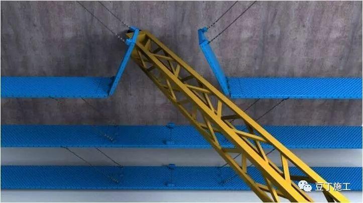 折叠式升降脚手架设计、安装及拆除工艺解析_19