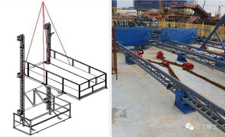 折叠式升降脚手架设计、安装及拆除工艺解析_29