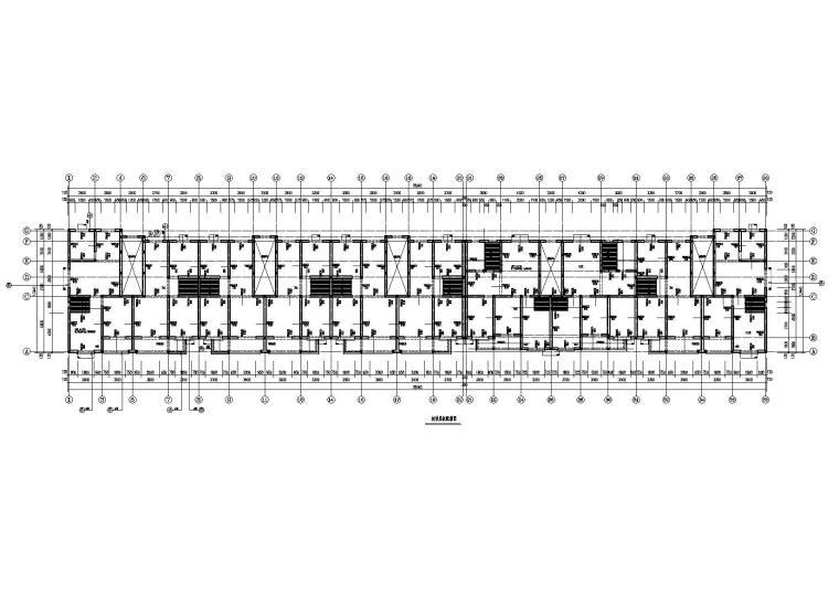 某六层砖混住宅楼结构施工图纸(现浇楼板)