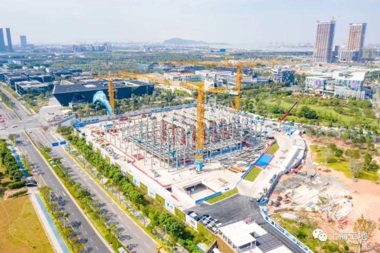中建八局如何7天完成2000余吨钢结构安装?
