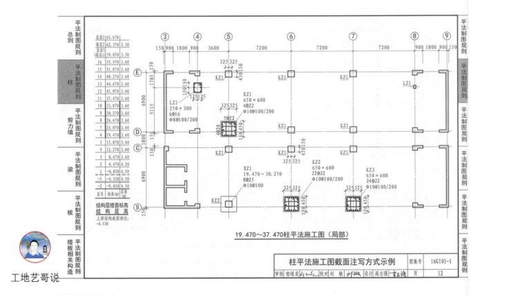 结构钢筋89种构件图解_10