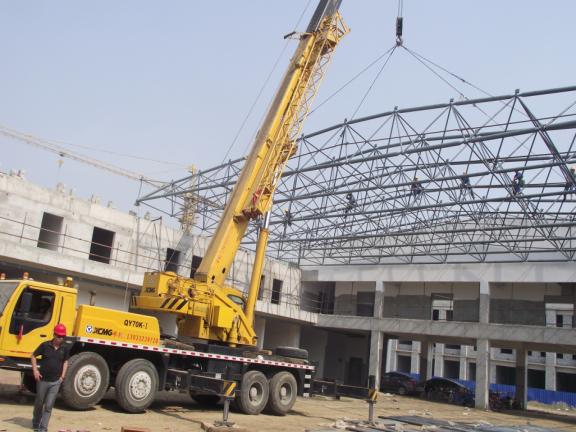 钢结构(网架)安全生产的操作及注意事项