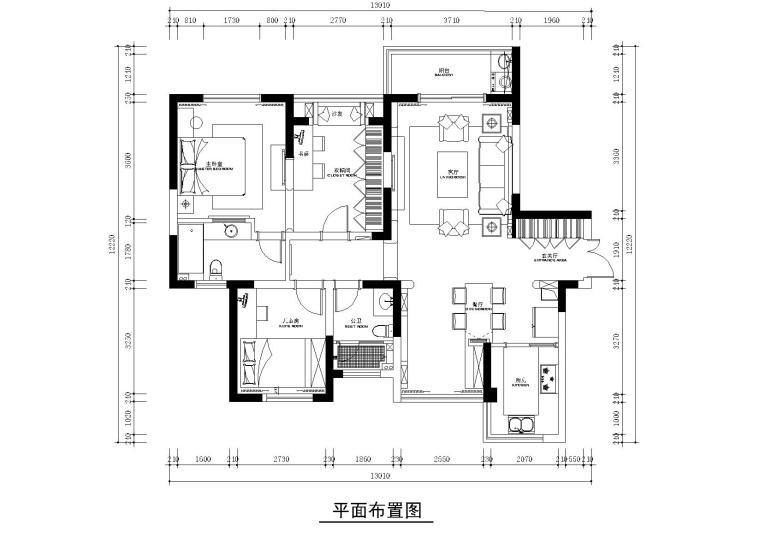 巫小伟设计-置地悦湖施工图+效果图
