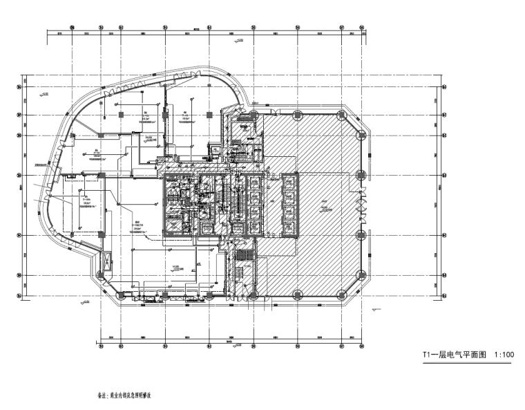 上海5A甲级写字楼办公综合体改造工程施工图