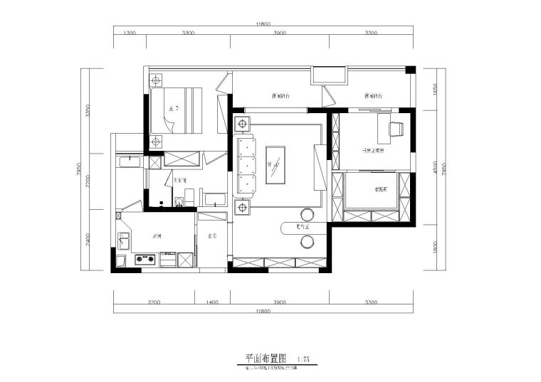 铭筑设计-地中海风格私人住宅施工图+效果图