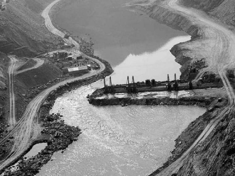 毛毯河水电站大坝截流施工方案(清楚明了)