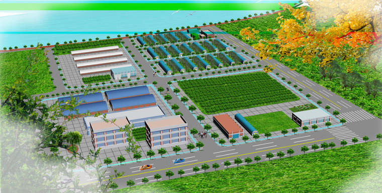 农场景观规划设计案例效果图