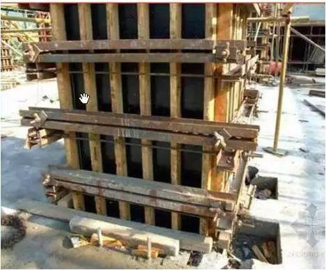 模板工程施工工艺精细化做法,各部位详解_7