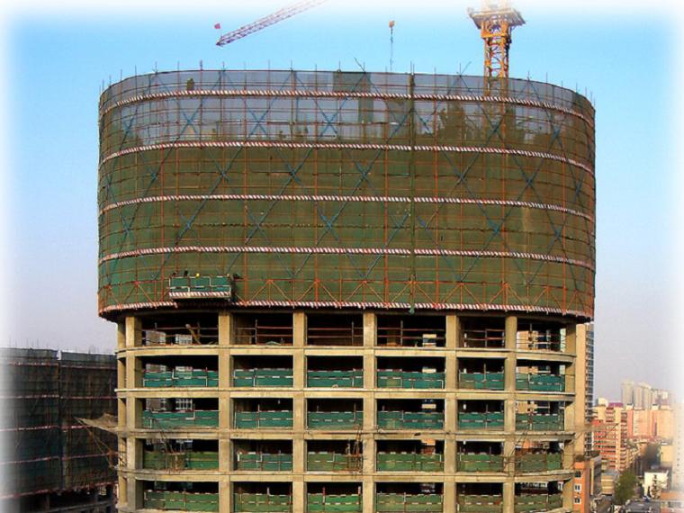 [武汉]高层住宅升降脚手架安全专项施工方案