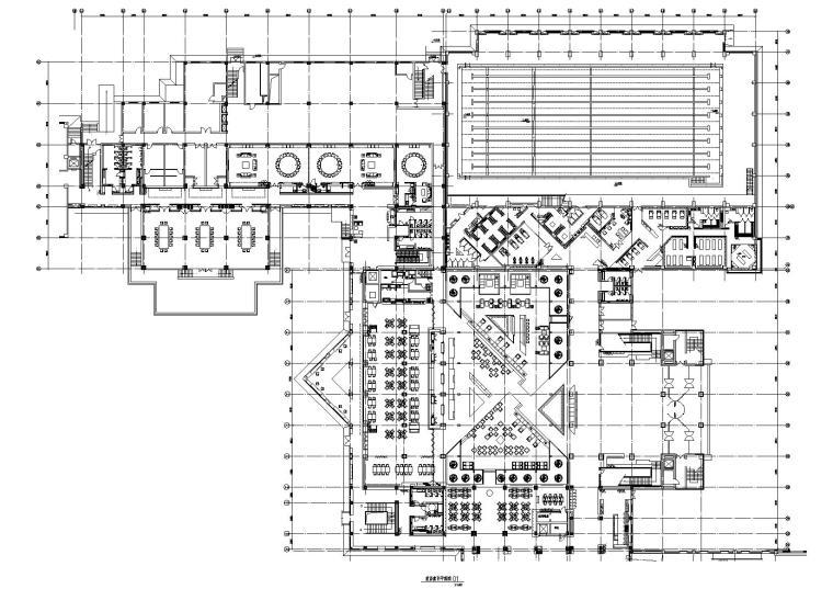 [西安]综合性园林式酒店装饰工程改造施工图