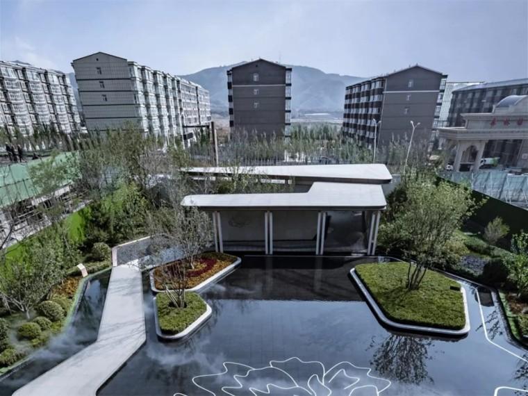 张家口中铁西山国际城示范区景观