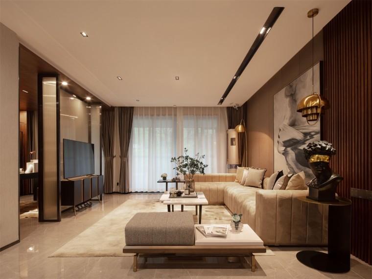 衡阳轻奢现代风格的居住空间