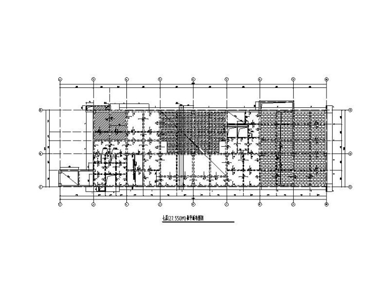 5层框架学术交流中心建筑结构施工图2019
