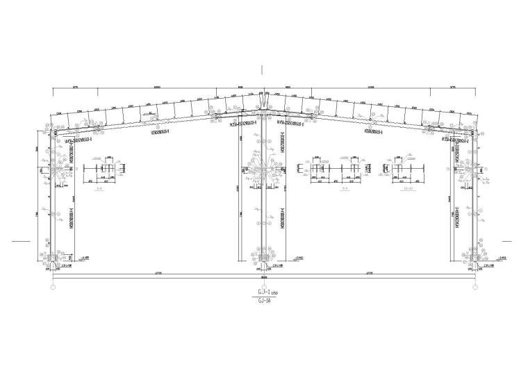 某公司仓库钢结构施工图