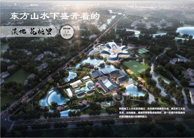 建筑设计|黔西南州工人文化宫项目_3