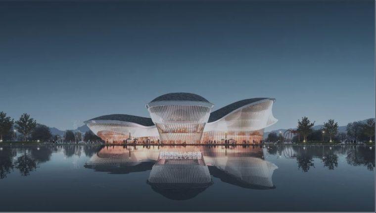 建筑设计|黔西南州工人文化宫项目_2