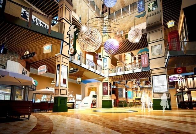 绵阳购物中心装修设计风格发展—水木源创装