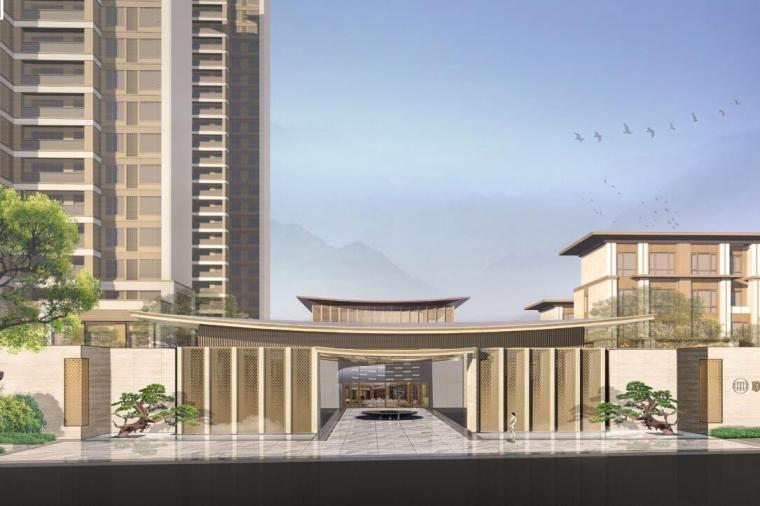 [福建]新中式君领天玺住宅景观方案文本