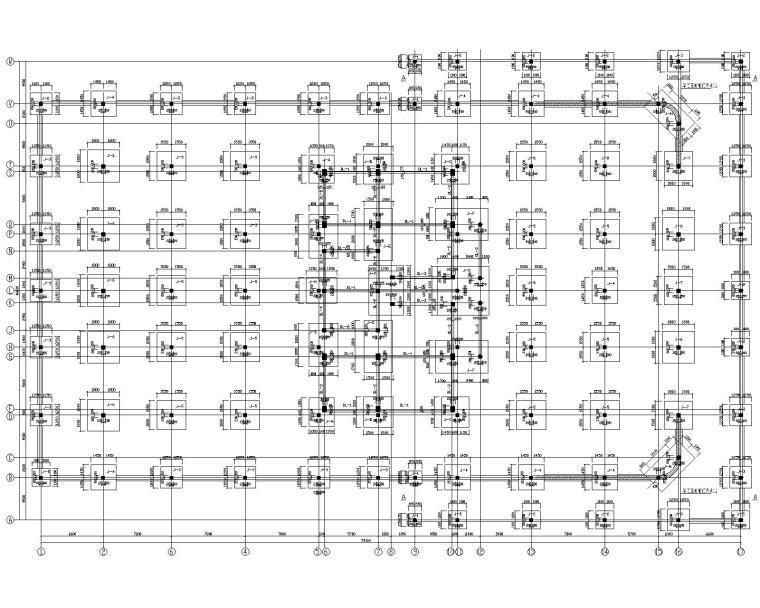 某混凝土停车库结构施工图(CAD)