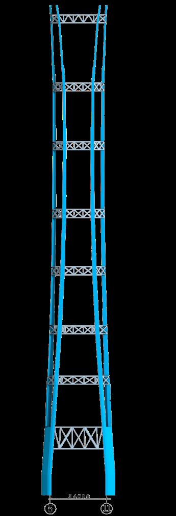 93巨柱立面示意