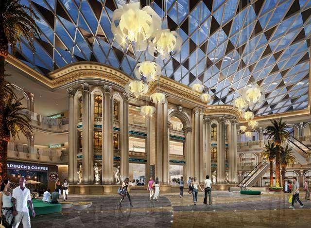 绵阳购物中心装修设计费用—水木源创装修设