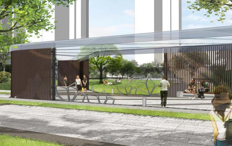 [广西]现代风格住宅景观概念方案设计