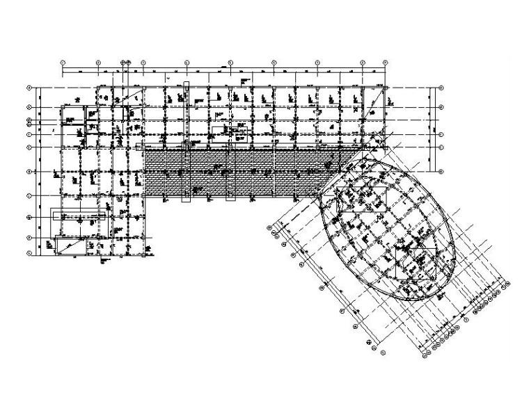 5层框架结构科技楼建筑结构施工图2019