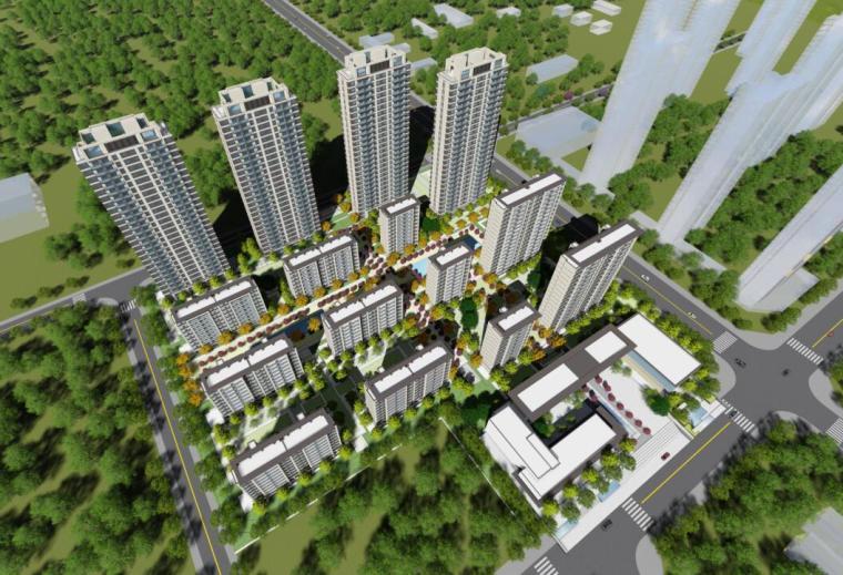[湖北]弘阳襄阳住宅高层+洋房住宅规划