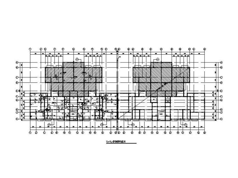 安置房项目结构图(框支剪力墙/框架结构)