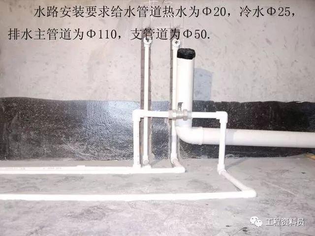 你想找到的最详细得给排水施工工艺