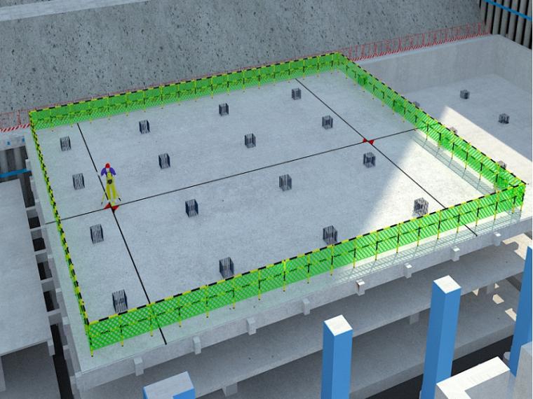[北京]钢管混凝土框架金融中心测量施工方案
