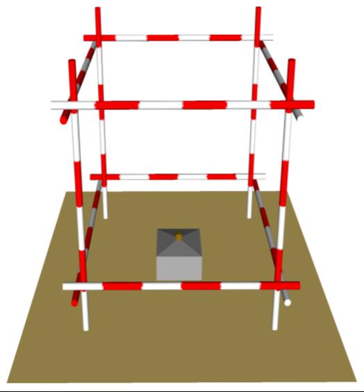 61二级控制点的埋石、保护示意图