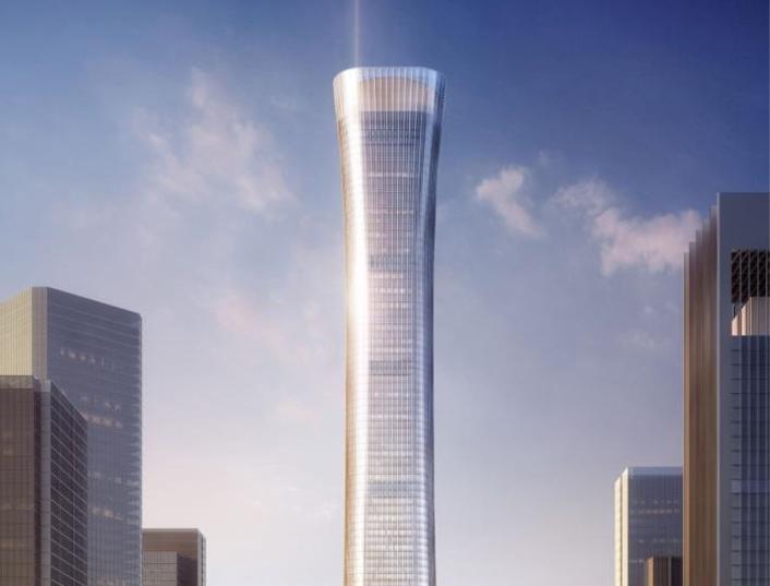 [北京]中国尊项目悬挑式卸料平台施工方案