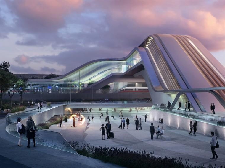 爱沙尼亚波罗的海铁路Ülemiste新站