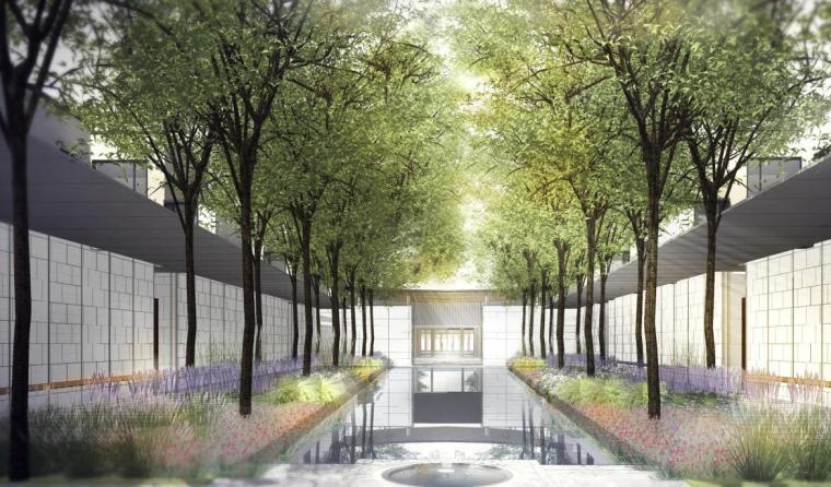 [江苏]现代风格别墅区景观设计展示文本