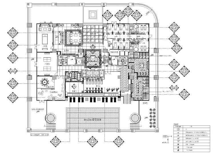 [广州]梁志天_富力爱丁堡国际公寓会所图纸